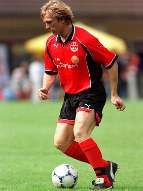 Kicken konnte er: Ansgar Brinkmann, hier 1998 im Trikot von eintracht Frankfurt.