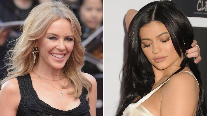 Kylie gegen Kylie: Die australische Pop-Diva reagiert erbost auf die Pläne des Reality-Stars aus den USA.