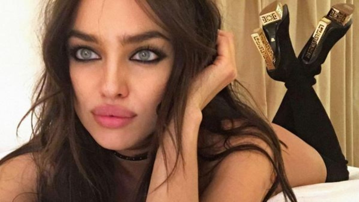 Pin pin irina shayk spotted in de grisogono diamond - Selfie donne a letto ...
