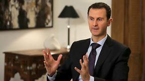 Trotz anhaltendem Krieg und Kritik: Assad will bis mindestens 2021 an der Macht bleiben