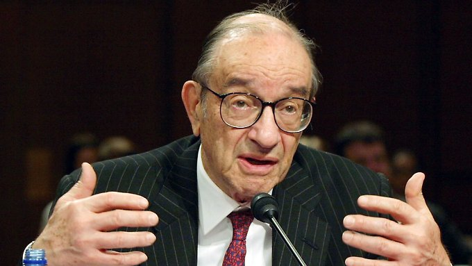 Fahrlässige Niedrigzinspolitik: Alan Greenspan.
