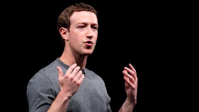 Facebook-Chef Mark Zuckerberg wird sich mit den deutschen Kartellbehörden auseinandersetzen müssen.