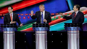 Republikaner zerfleischen sich gegenseitig: Cruz: Geheimes Tonband überführt Trump als Lügner