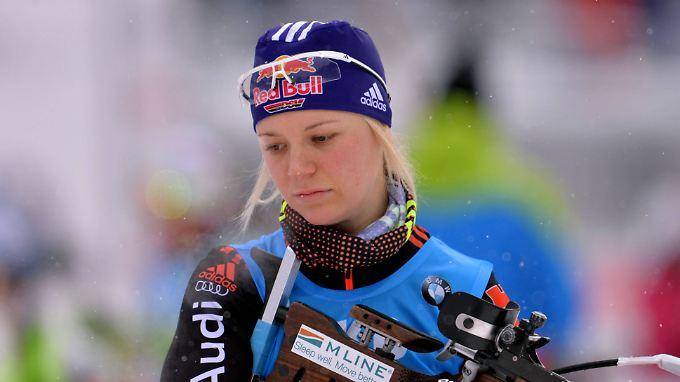 Miriam Gössner will bei der WM starten - ob der Bundestrainer sie aber lässt?