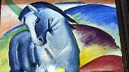 """Franz Marc - Tiere, Traum, Tod: """"Der blaue Reiter ist gefallen"""""""
