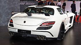 FAB Design verleiht dem Mercedes-AMG GT Flügel.