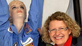 Claudia Kessler wollte einst selber Astronautin werden.