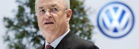 Erklärung von Volkswagen: Winterkorn bereits im Mai 2014 über Abgasproblem informiert