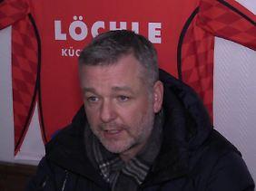 Alexander Stolberg beklagt ein Hooligan-Problem bei seinem EHC Klostersee.
