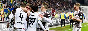 Umkämpfte Zweit-Liga-Partie: St. Pauli ringt Braunschweig nieder