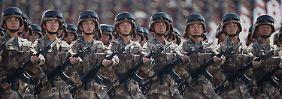 Weniger Wachstum als erwartet: China drosselt seine Militärausgaben