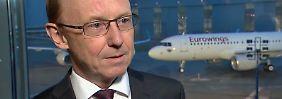 """Eurowings-Chef Garnadt im Interview: """"Sind sehr, sehr zufrieden mit dem Start"""""""