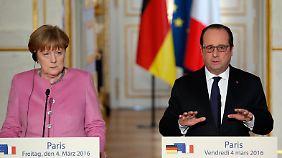 Vor dem EU-Türkei-Gipfel: Merkel stimmt sich mit Hollande ab, Seehofer trifft Orban