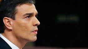 Pedro Sánchez bekommt keine Mehrheit zusammen.