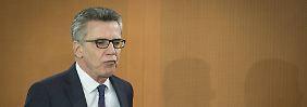 Thomas de Maizière will für den EU-Türkei-Gipfel für eine gute Atmosphäre sorgen.
