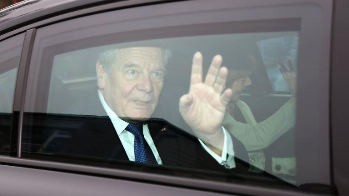 Joachim Gauck sorgt sich um die Einigung Europas.