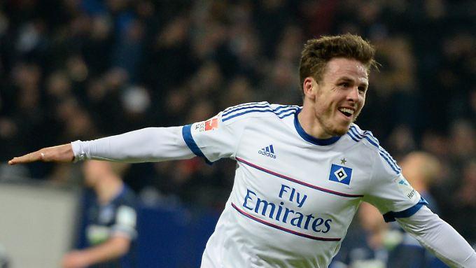 Hamburger des Spiels: Nicolai Müller sorgte per Doppelpack für den 2:0-Erfolg gegen Hertha BSC.