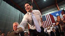 Haushoher Sieg in Puerto Rico: Rubio gewinnt zweite Vorwahl