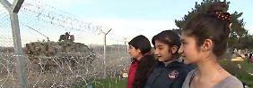 Angst und Hoffnung in Idomeni: Mädchen erzählen von ihrer gefährlichen Flucht