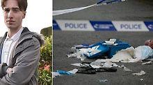 Messerattacke in England: Teenager rettet hochschwangere Frau