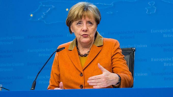 Angela Merkel: Der Durchbruch gelingt vielleicht in zehn Tagen.