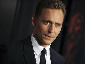 James Bond? Da wär er dabei, dat wär prima: Tom Hiddleston.