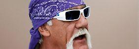 Promi-News des Tages: Hulk Hogan verklagt Pornoseite