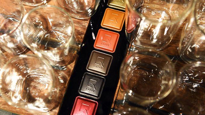 """Neues auf dem Markt der Kaffeekapseln: Tschibo will mit """"Qbo"""" durchstarten."""