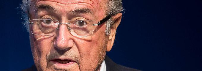 """""""Für Joseph Blatter, gilt wie für alle Beschuldigten, die Unschuldsvermutung."""""""