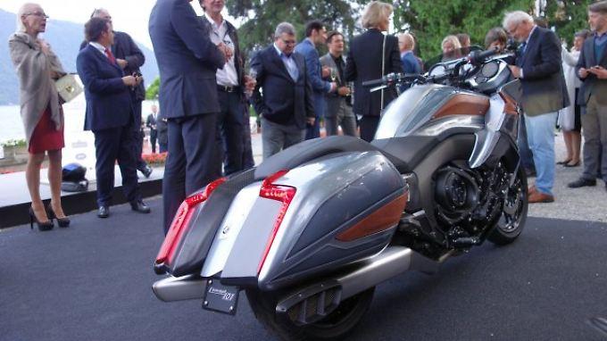 """Elemente der 2015 präsentierten Studie """"Concept 101"""" sollen schon bald Eingang in ein Serienmotorrad finden."""