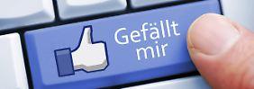 """Internet verklagt - und gewonnen: Verbraucherzentrale streitet um """"Like""""-Button"""
