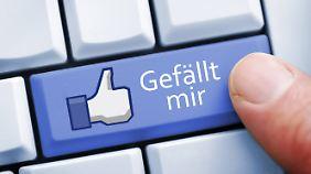 """Wird der """"Like""""-Button direkt eingebunden, liest Facebook schon ab dem ersten Seitenaufruf mit."""