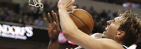 Furcht um NBA-Playoffs geht um: Nowitzki rutscht mit Dallas in die Krise