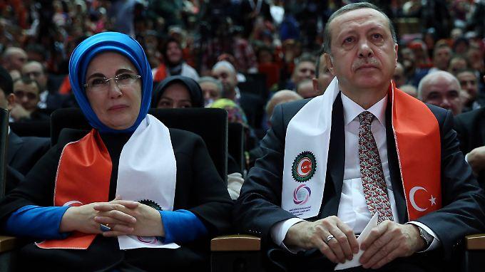 Emine und Recep Tayyip Erdoğan sind seit 38 Jahren verheiratet.