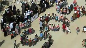 Unerträglicher Hunger: Kinder schicken Hilferuf aus dem syrischen Daraya