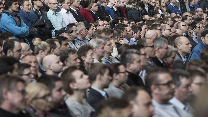Viele Fragen: Betriebsversammlung bei VW am 8. März.