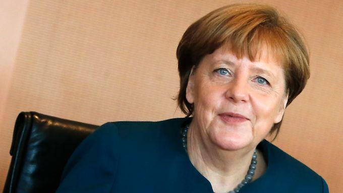 """""""Nicht jeder der Flüchtlinge wird hierbleiben"""", sagt Merkel."""