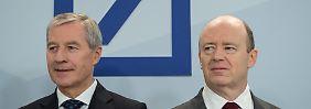 Minusrekord der Deutschen Bank: Lohntüte der Top-Banker wird kleiner