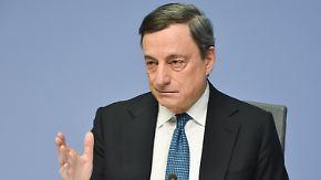 EZB-Chef unter Beschuss: Draghi stichelt gegen deutsche Kritiker