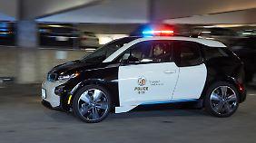 E-Autos sind für das LAPD mehr als ein grünes Mäntelchen.
