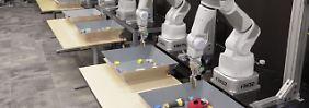 Learning by Doing: Googles Roboterhände begreifen die Welt