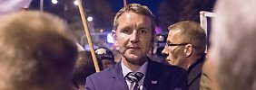 Er gilt als besonders radikal: Björn Höcke führt die AfD im Thüringer Landtag.