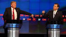 Debatten-Party der Republikaner: Wie Trump die New Yorker überzeugt