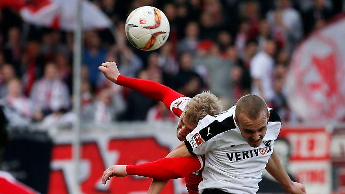 Fortuna Düsseldorf in Sandhausen: Viel Kampf, keine Klasse, und am Ende wieder keine Punkte.