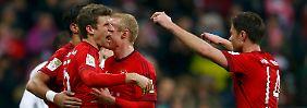Warmschießen für Juventus: FC Bayern fertigt hilflose Bremer ab