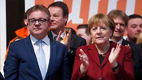 Merkel auf Stimmenfang im Ländle: AfD stößt mit reaktionärem Frauenbild auf Kritik
