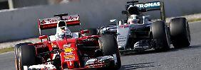 Die Formel-1-Hoffnung ist rot: Nur Ferrari kann Mercedes-Solo stoppen