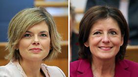 Damenduell in Rheinland-Pfalz: Dreyer und Klöckner liefern sich Kopf-an-Kopf-Rennen
