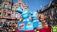 Rosenmontag 2.0: Narren erobern die Straßen von Düsseldorf