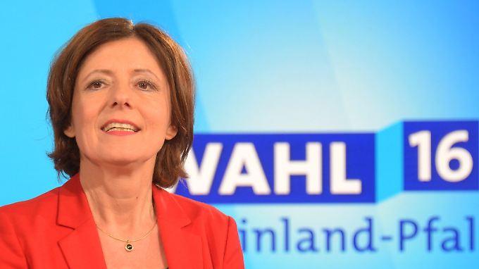 Ministerpräsidentin Malu Dreyer hat die Wahl: Die SPD könnte mit Grünen und FDP oder mit der CDU regieren.